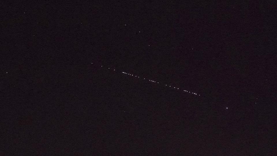 Starlink Satelliten Sehen Heute