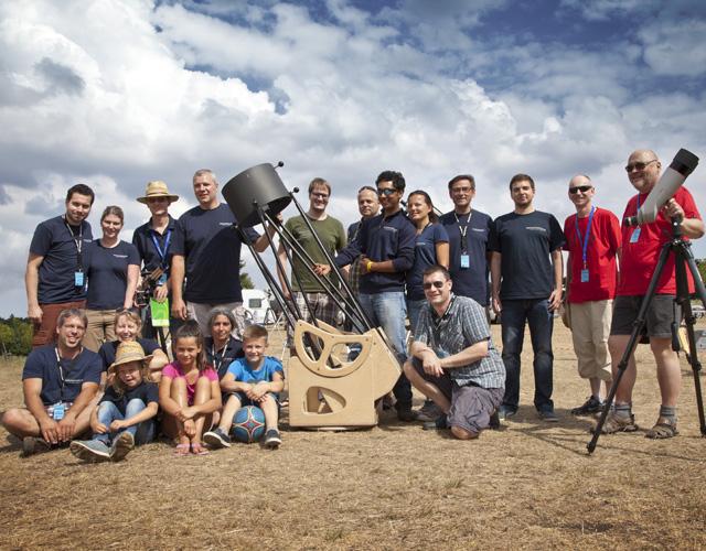Astronomiefreunde aus Ingolstadt und Region